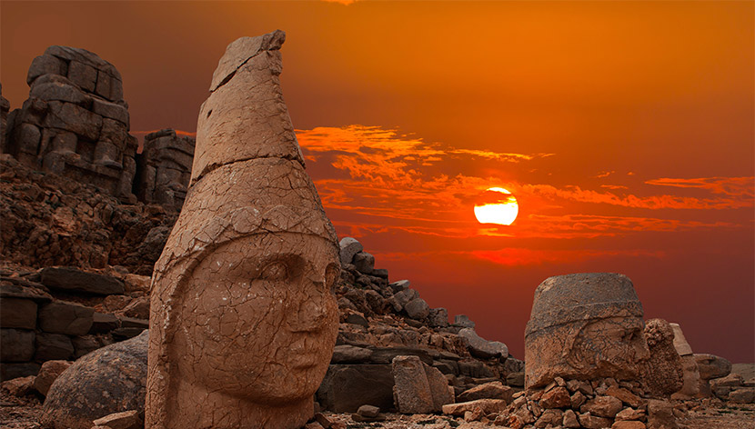 Nemrut Mountain Turkey